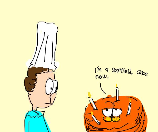 Cat-cake asks if it's basically like Garfield