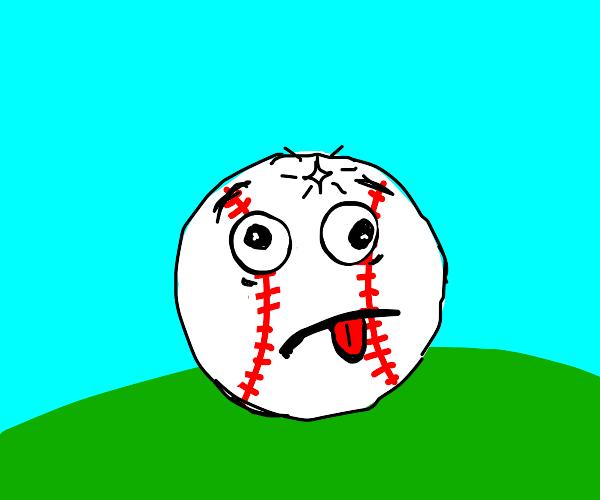 An ill Baseball