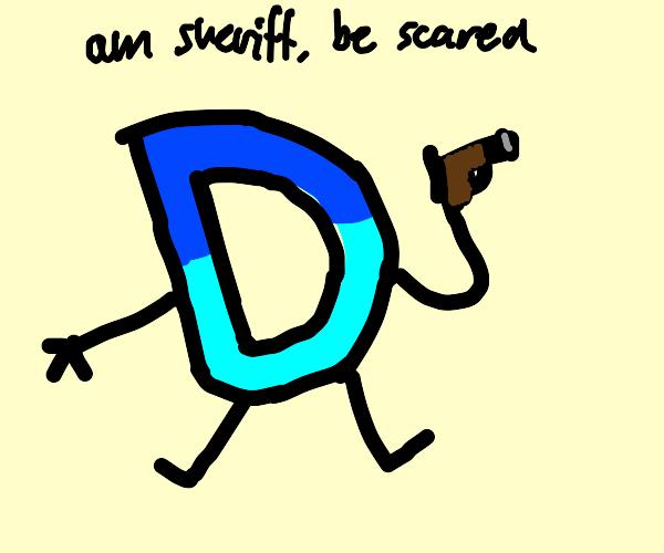 drawception d is sheriff