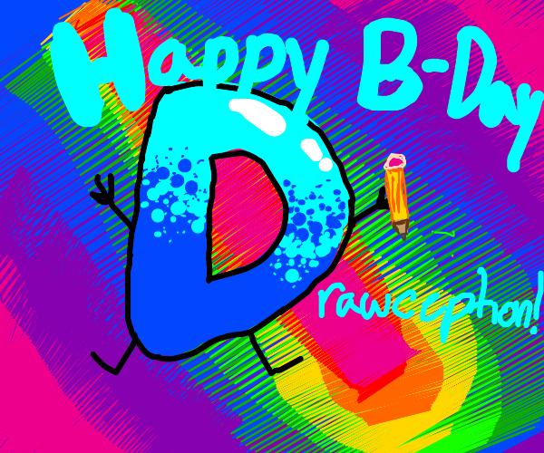 happy bday drawception!