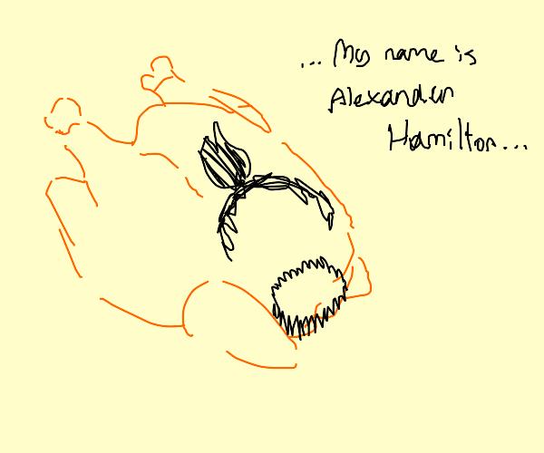 Hamilton the Turkey