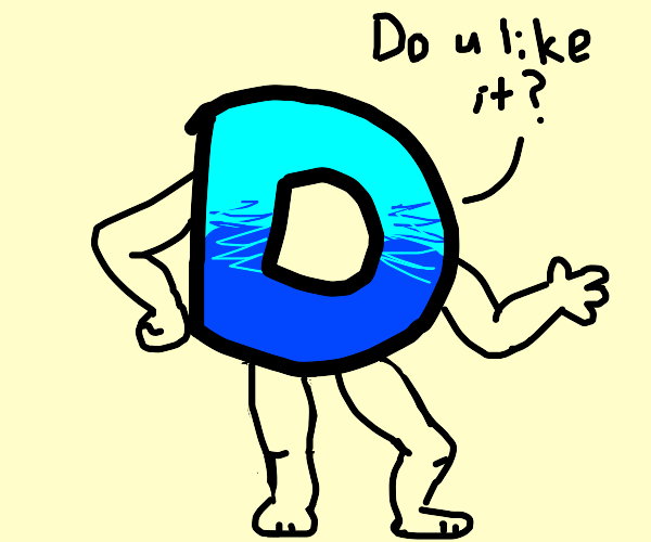 Drawception d shows off new body