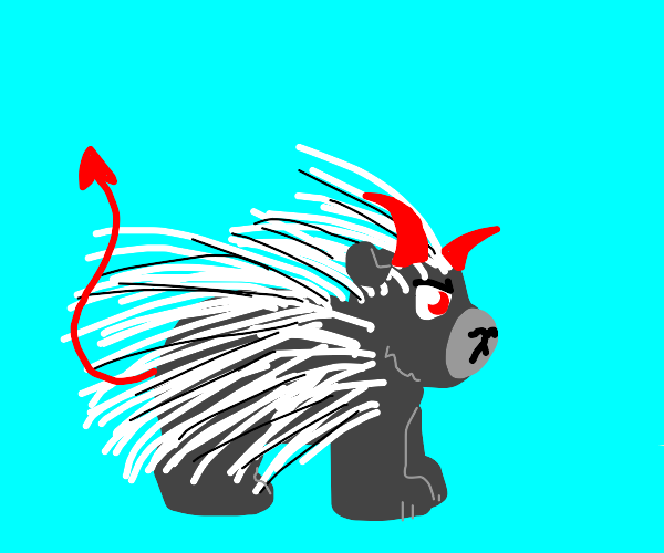 Demon porcupine