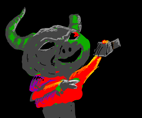 its ya boy, demon gremlin
