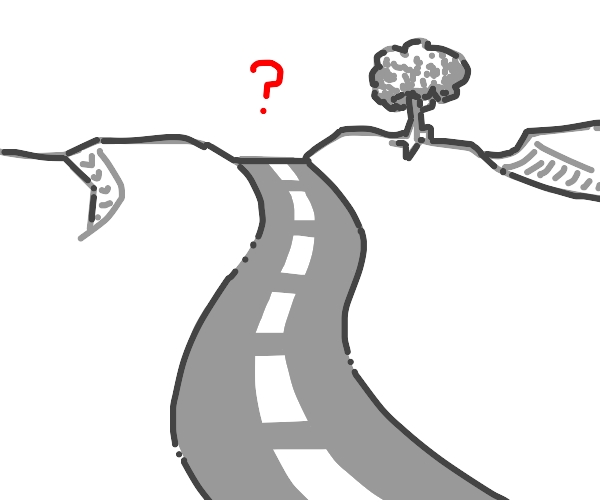 Road to unknown distinction