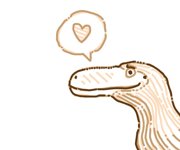 a dino loves u!
