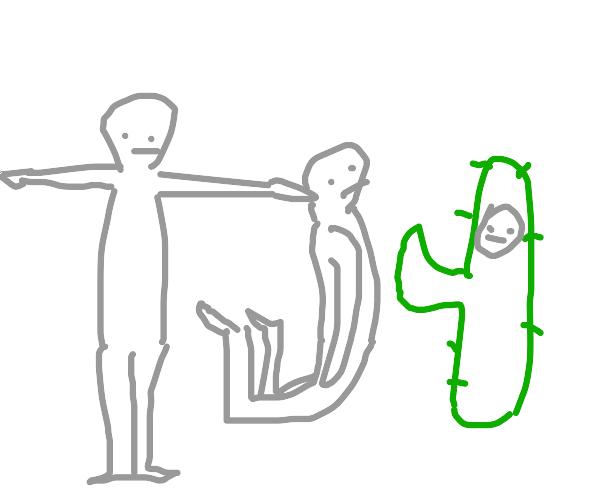 T-pose, J-pose and cactus pose
