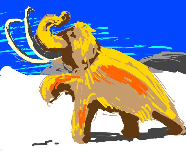 A Beautiful Blond Mammoth