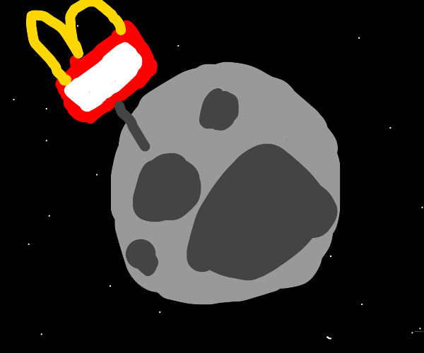 McDonalds Takes over the moon
