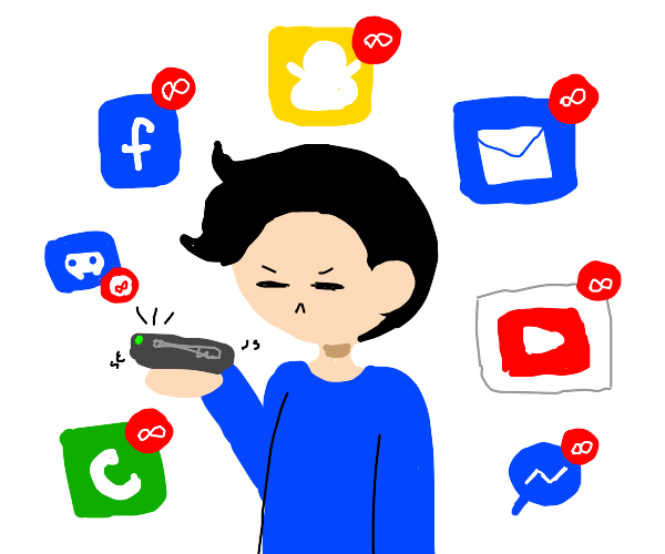 Annoyed at notifications