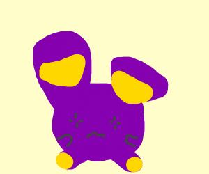 pokemon yellow purple guy