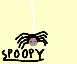 spoopy red eyed spooder