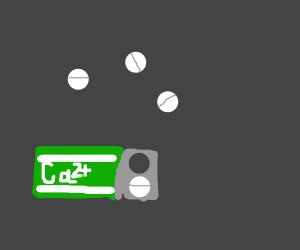 calcium pill+