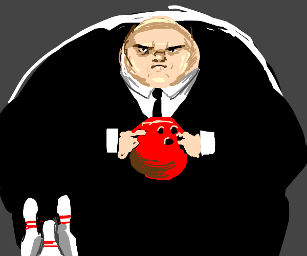 kingpin goes bowling