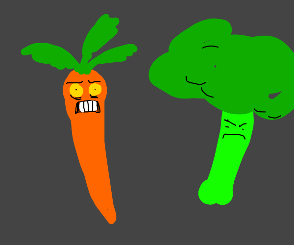 Evil veggies are coming after you