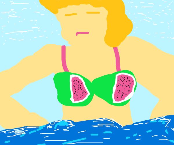 Watermelon bra