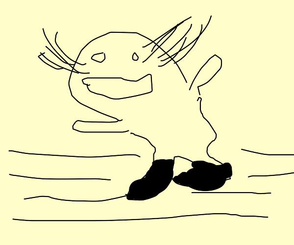 brown whale-walrus tap dancing