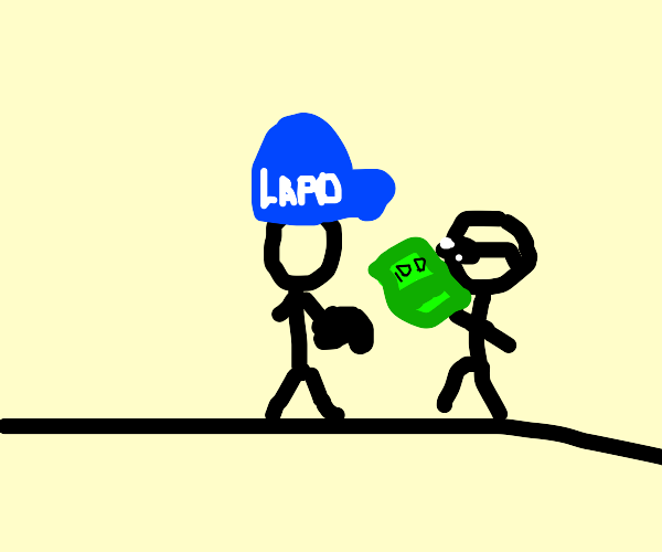 Cool guy bribes the police