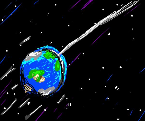 Earth yo-yo