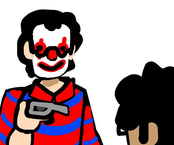 You vs you as a clown