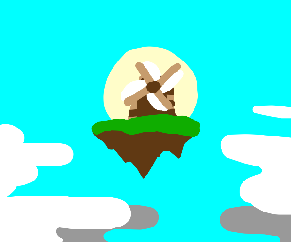 Flying Windmill Island