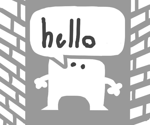 little guy says hello! :)