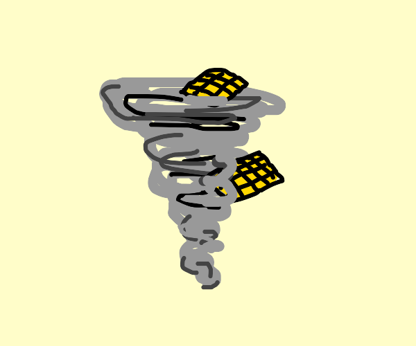 Waffles in a Tornado
