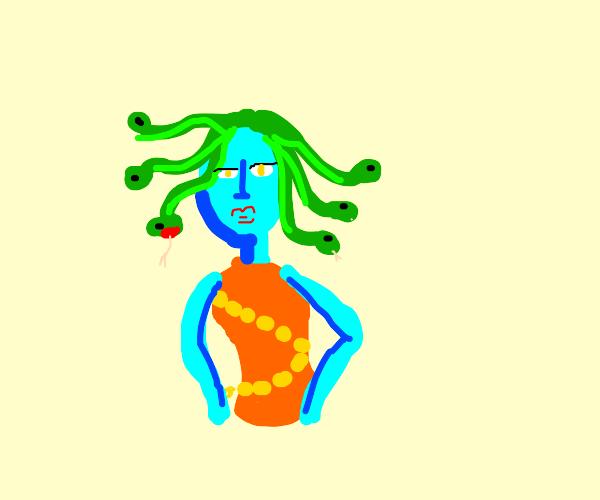 Blue Medusa!