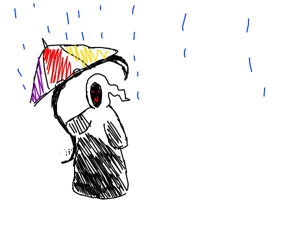 Grim reaper umbrella