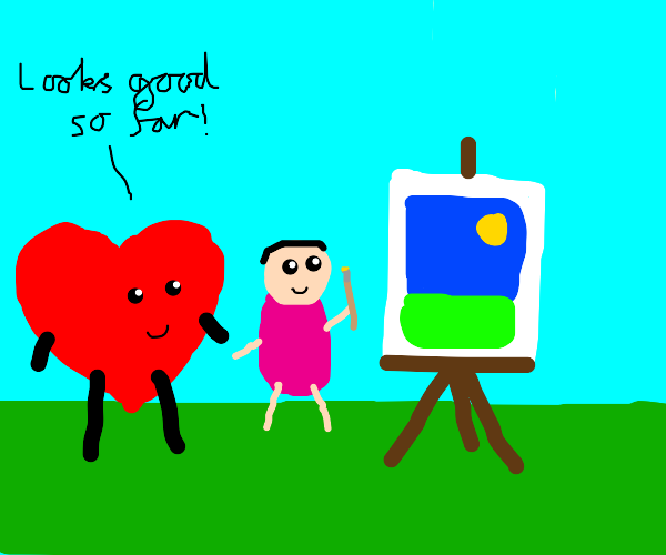 Painting with a Heart