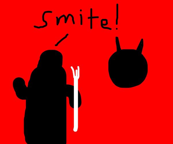 Grim Reaper hates antichrist