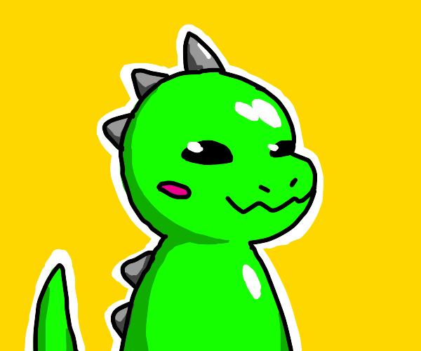A kawaii dinosaur
