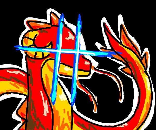 intense dragon