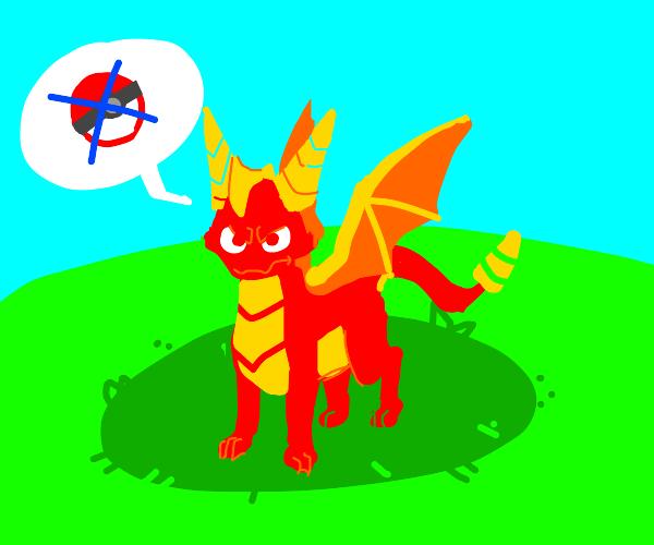 Red Spyro isn't a pokemon