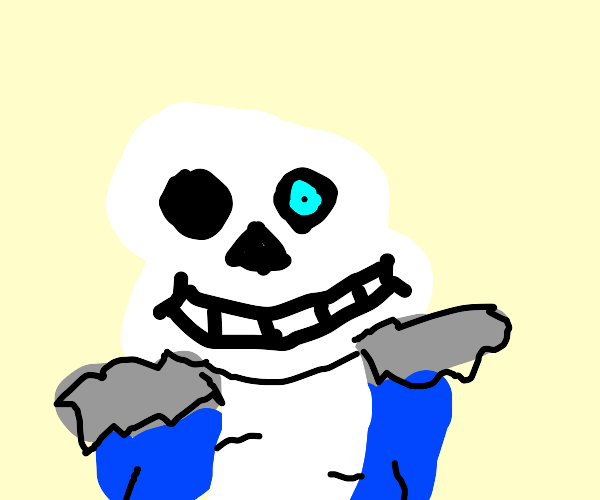 Sans gives you a bad time