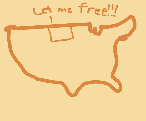 N. Dakota wants to be an island