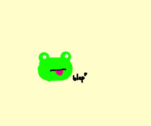 Bleb frog