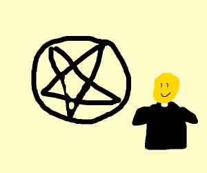 happy priest of satan