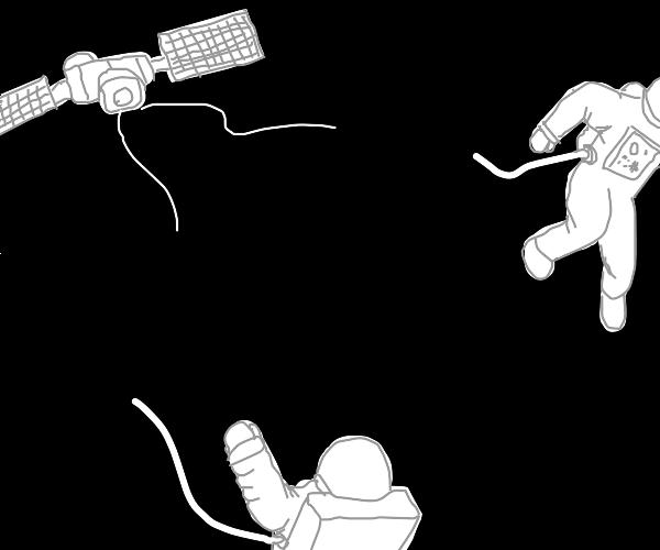 marooned astronauts