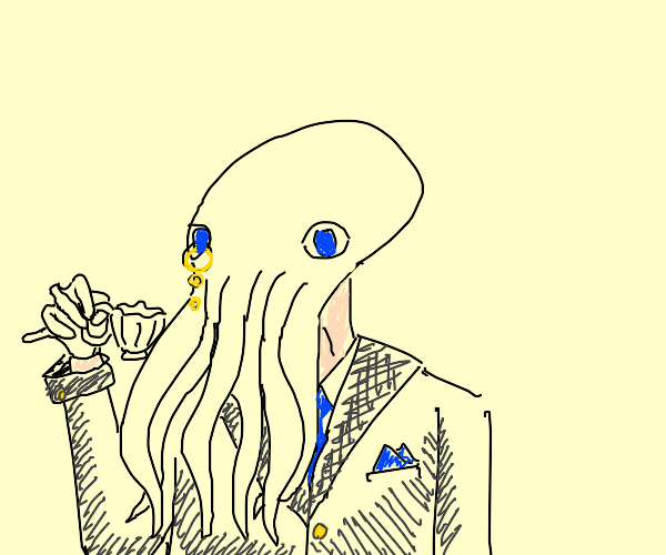 dapper octopus holy damn thats cultured