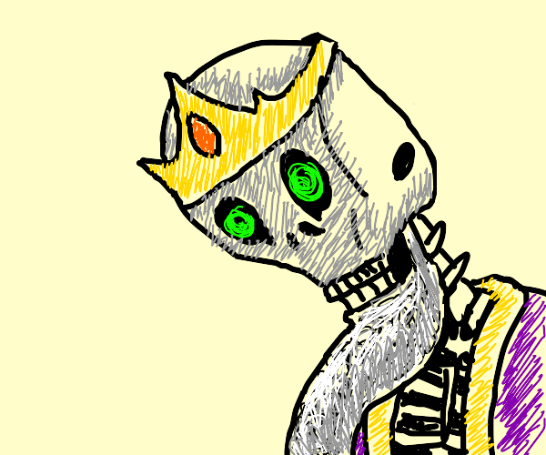 Old Skeleton King with huge beard