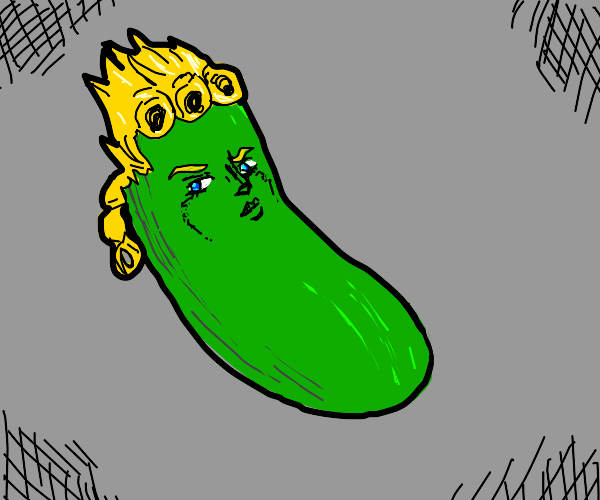 giorno turned himself into a pickle