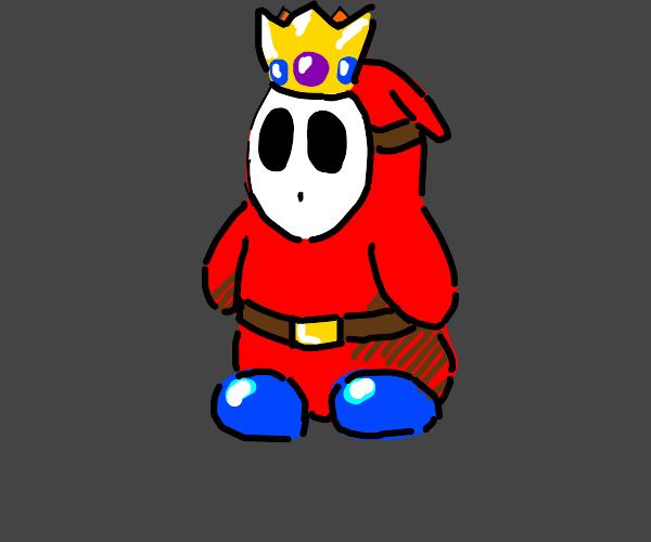 Shy king