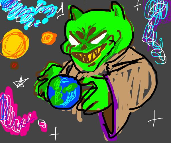 Goblin , the destroyer of worlds.