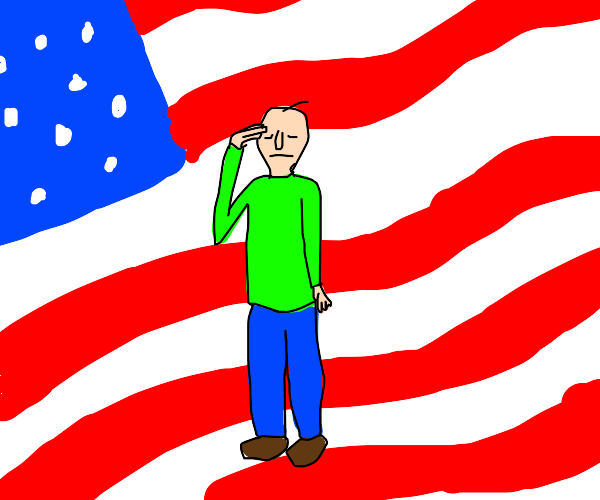 Baldy believes in American exceptionalism