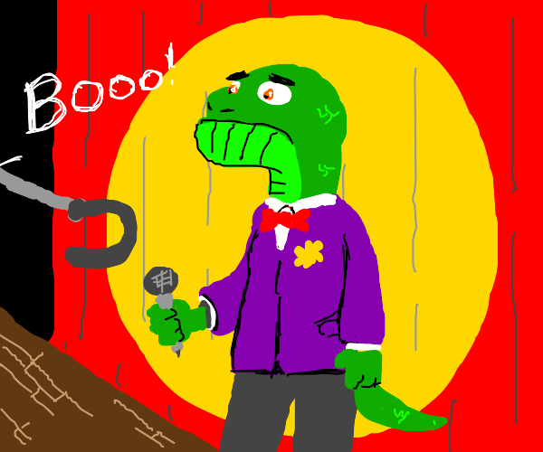 Comedian Reptile is rejected