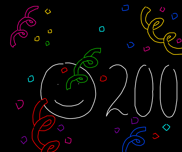WE JUST HIT 200 SMILES