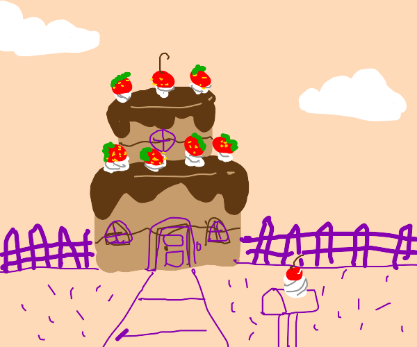 Two Tier Cake House