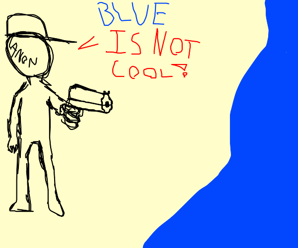 blue is not cool