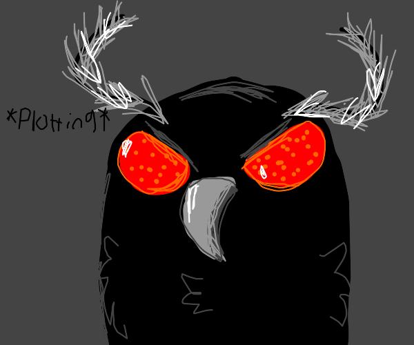 mothman plots his next appearance